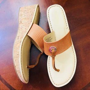 🆕Liz Claiborne Lively Cork Sandals sz9